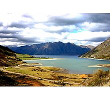 Lake Hawea New Zealand Photographic Print