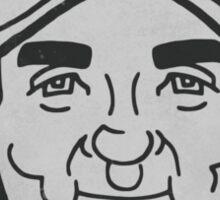 Johnny Bench Caricature Sticker