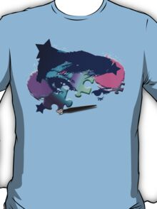 Painted Puzzle Girl T-Shirt