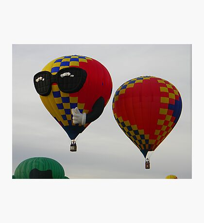 One Cool Balloon Photographic Print