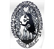 Life Is So Much Merrier When You Love A Bull Terrier Poster