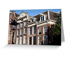 Dutch Architecture Greeting Card
