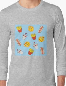 Junk Food Long Sleeve T-Shirt