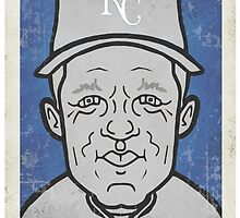 George Brett Caricature by RJCSportsArt