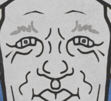 George Brett Caricature Sticker