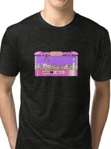 Kirby's Claw Machine Tri-blend T-Shirt