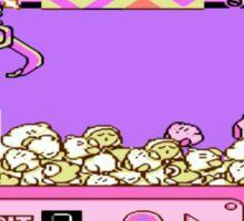 Kirby's Claw Machine Sticker