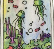 Coral Reef Terrarium Sticker