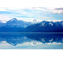 Lake Pukaki, New Zealand landscape Photographic Print