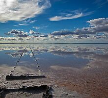 Lake Hart South Australia by robynabell
