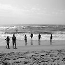 Ocean Beach in Autumn by Mary Tomaselli