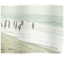 Beach Fade Poster