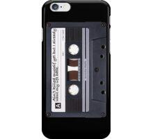 Cassette Tape Quote: Nightmare Phone Case iPhone Case/Skin