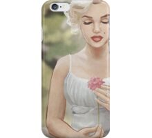 Flowergirl (Grain) iPhone Case/Skin