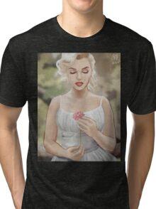 Flowergirl (Grain) Tri-blend T-Shirt