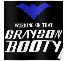 Batman - Grayson Booty Poster