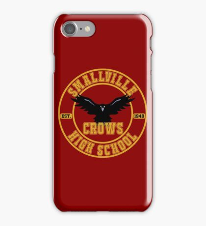 Smallville Crows iPhone Case/Skin