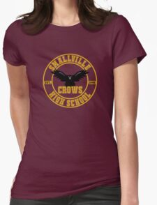 Smallville Crows Womens Fitted T-Shirt