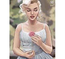 Flowergirl (No Grain) Photographic Print