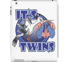 It's Twins - Boys iPad Case/Skin