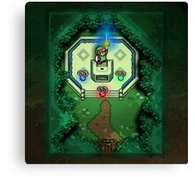 Zelda Link to the Past Master Sword Canvas Print