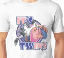 It's Twins - Girl and Boy Unisex T-Shirt