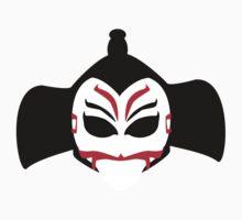 Kabuki Man Mask Kids Clothes