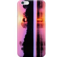 Sunset on Kafue River, Zambia iPhone Case/Skin