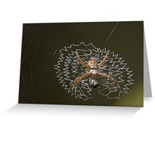 Orbiting the Green Planet Greeting Card