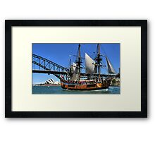 Aussie Icons Framed Print