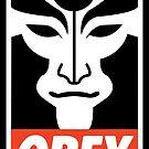 Obey Amon by Adam Grey