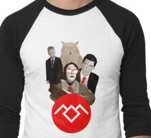 Welcome To Twin Peaks Men's Baseball ¾ T-Shirt