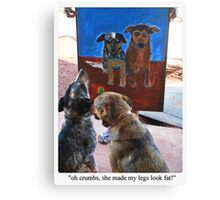 Oh crumbs! Canvas Print