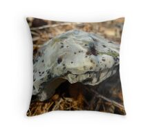 Camouflage helmet? (M is for mold) Throw Pillow