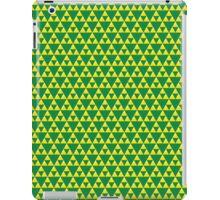 Green and Gold Zelda Inspired Triforce iPad Case/Skin