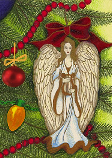 Christmas Blessings by AngelinaLucia10