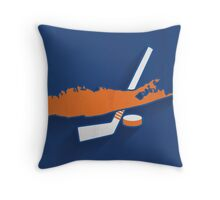 New York Islanders Minimalist Print Throw Pillow