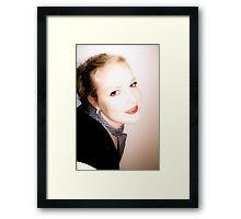 fifties charm Framed Print
