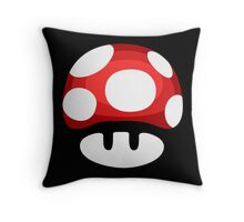 Super Mushroom Throw Pillow