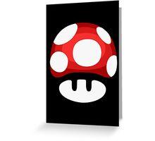 Super Mushroom Greeting Card