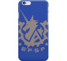 Earth Federation Space Force iPhone Case/Skin