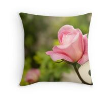 Smell the rose Throw Pillow