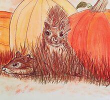 Playtime Pumpkin by Melbrandes