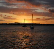 ''Sunset from Cooktown'' by bowenite