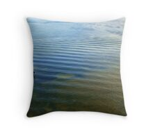 Angler & Blue Mussels Throw Pillow