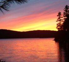 Algonquin Sunset Sticker