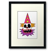 Clown Bed Framed Print