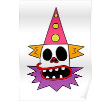 Clown Bed Poster