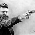 Ned Kelly drawing by whizzywhizzer