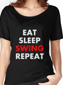 Cesaro - Eat, Sleep, Swing, Repeat Women's Relaxed Fit T-Shirt